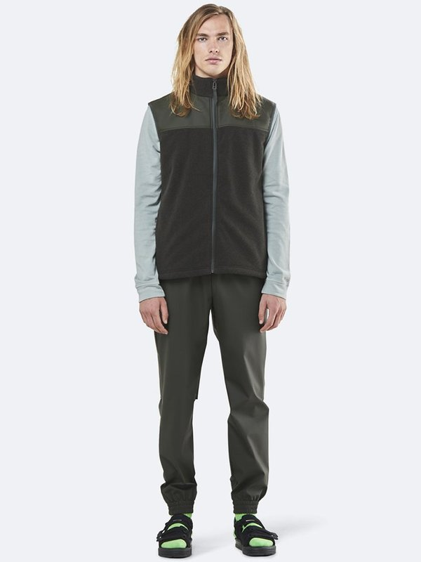 Rains Fleece Vest - Green