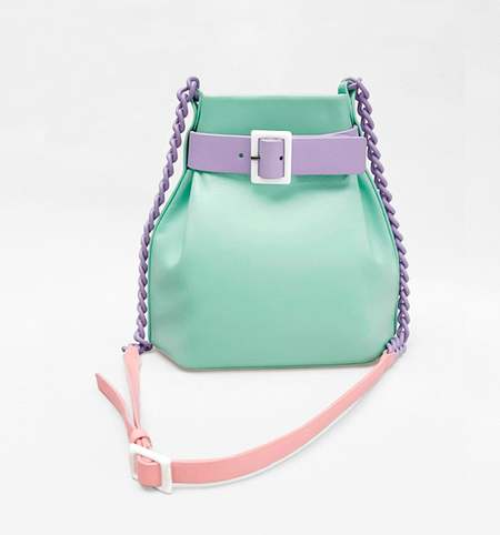 MATTER MATTERS MINI BUCKET - MINT/BLUSH