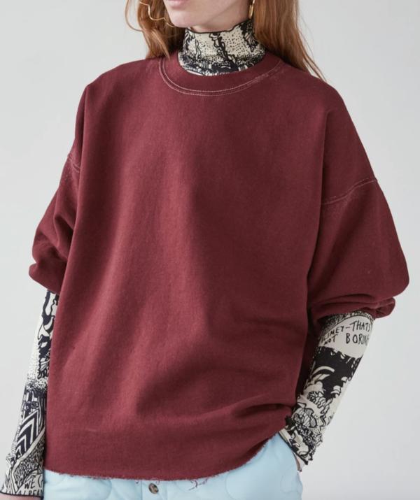 Rachel Comey Fond Sweatshirt - Paprika