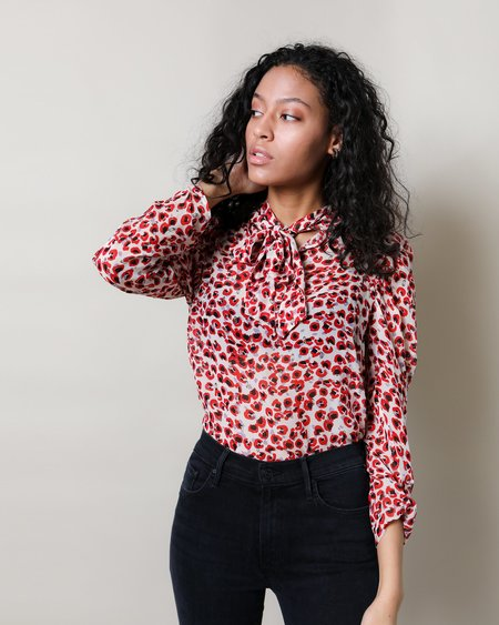 Munthe Jadyn Blouse - Red print