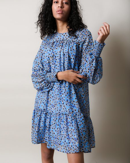 Munthe Joelle Dress - Blue print
