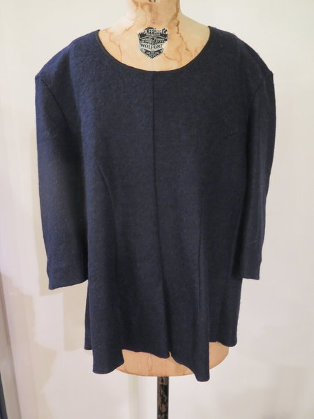 HACHE Zippered Pullover