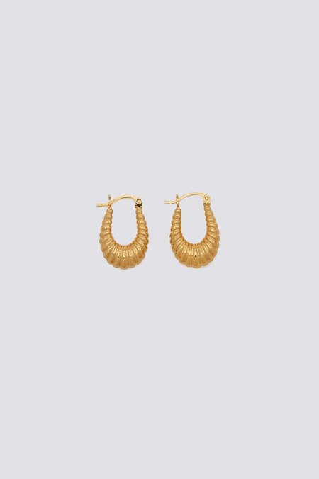 Tuza Masha Hoops - gold