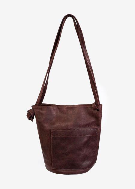 Erin Templeton Crossbody Bucket Bag - Wine