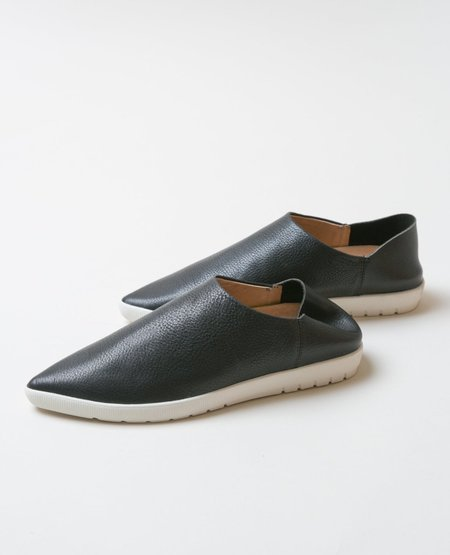 VISION QUEST Shoes - Black Pebble Grain