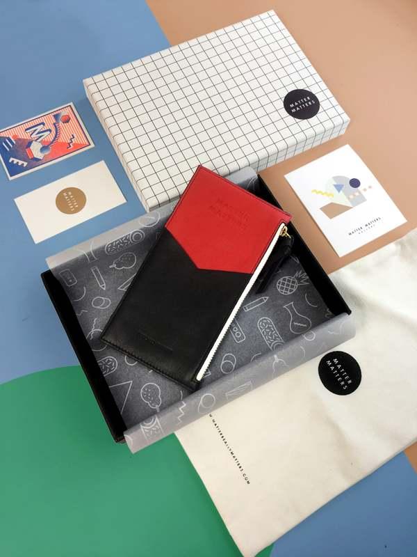 Matter Matters Mini Zipped Pouch - Bauhaus