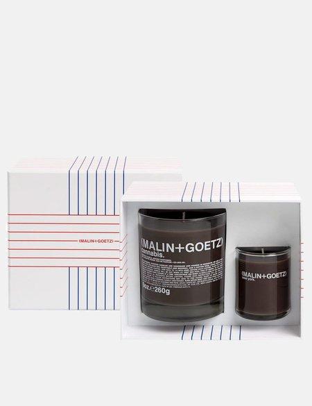 Malin+Goetz Get Lit Candle Set - Cannabis