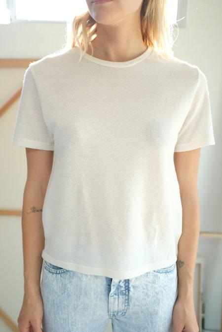 Beklina Merino T-Shirt - Ivory