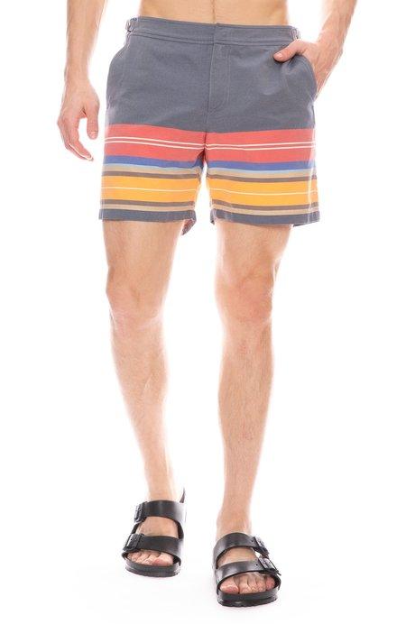 Orlebar Brown Bulldog Amalfi Stripe Swim Shorts