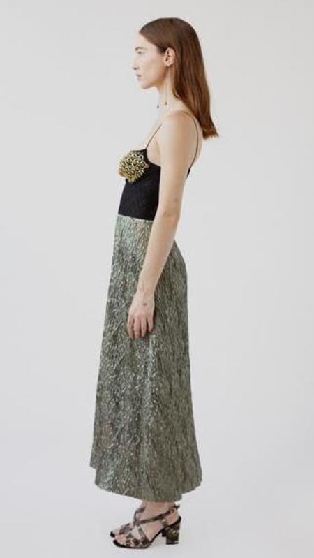 Rachel Comey Ruz Dress - Gold Crystal Hex