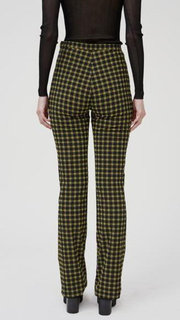 Rachel Comey Switzer Pant - Black Stretchy Plaid