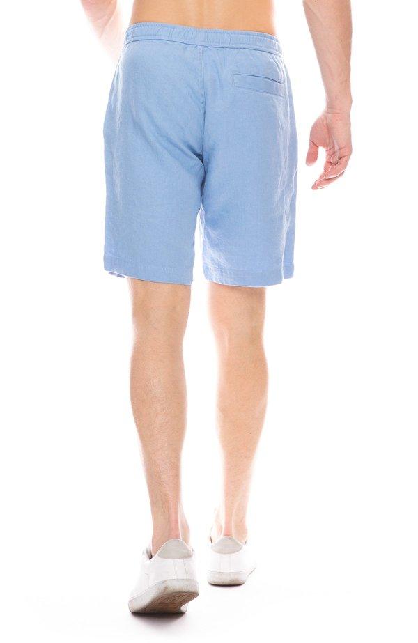 Orlebar Brown Harton Linen Shorts - Sea Breeze