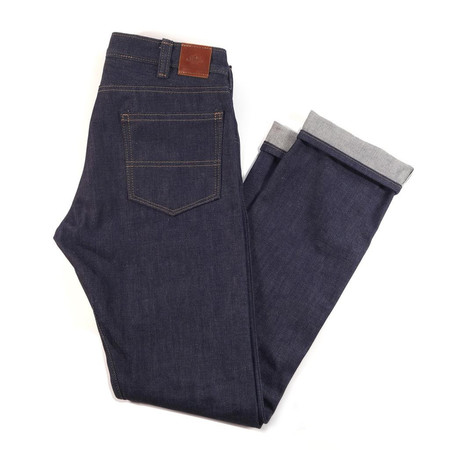 Red Clouds Denim GN.02 Selvage Pants - Blue