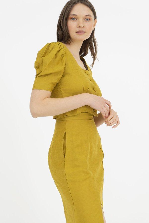 Hannah Kristina Metz Eyre Blouse