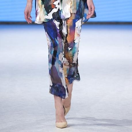 Aniimiism Summer cropped silk pant