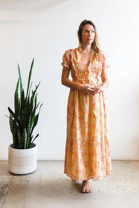 Banjanan Sherry Dress - Yellow