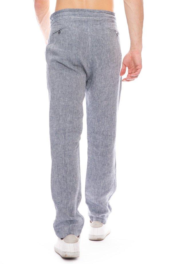 A Vested Interest Drawstring Linen Pant