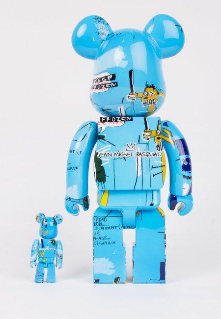 MEDICOM TOY Be@rbrick X Jean Michel Basquiat