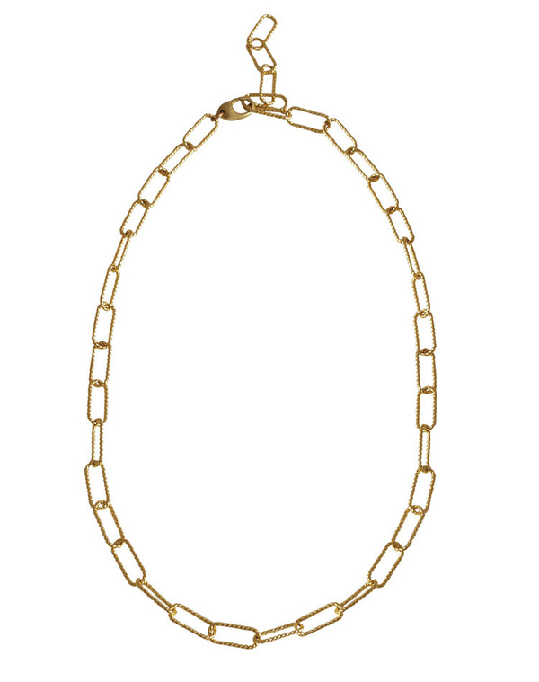 Laura Lombardi Rosa Chain Necklace - 14K Gold Plated