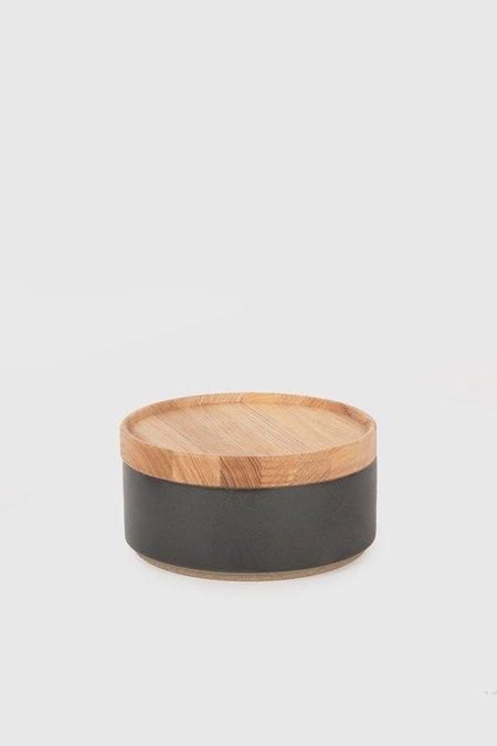 Hasami Porcelain Bowl & Lid Set - Black