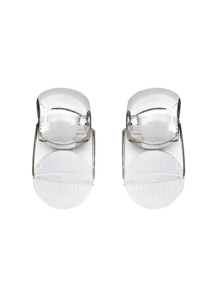 RACHEL COMEY Toca Earrings - Clear/Silver