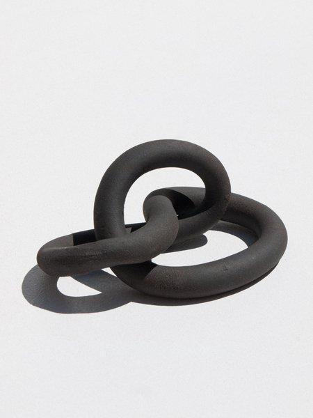 Asobimasu Clay Ikebana Enkei - matte black