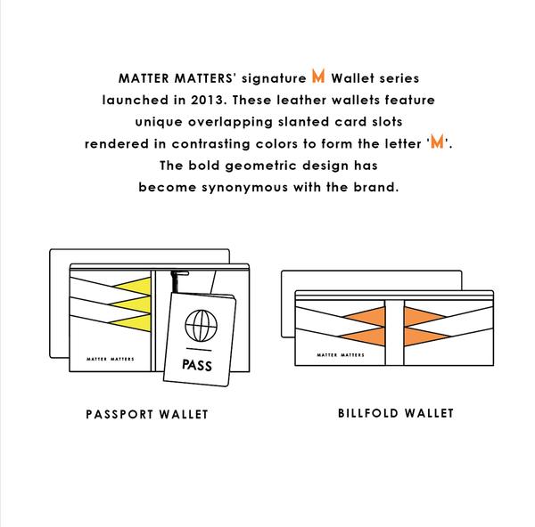 Matter Matters The M Long Wallet - Baby Blue