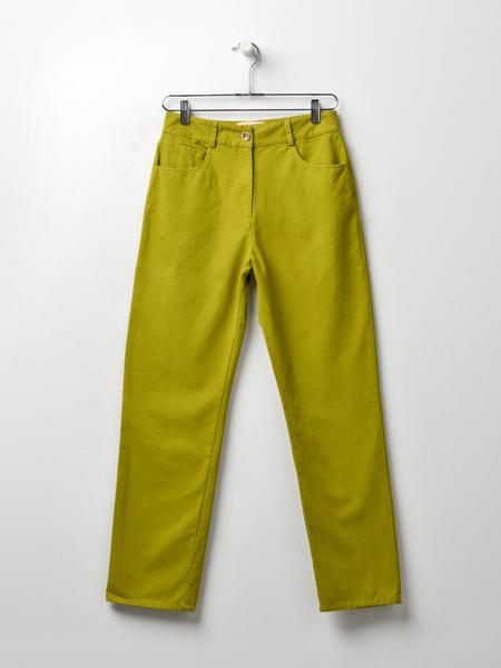 Paloma Wool TARENTO PANTS - Olive Green