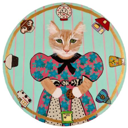 "Carly Beck ""Cookie Jar Kitten"" Artwork"