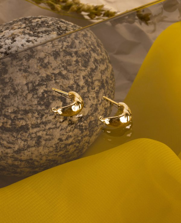 Ora-C PAM earrings - Gold 10KT