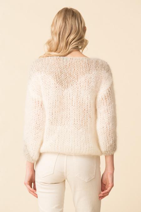 Maiami Western Glam Sweaterblouse - Creme