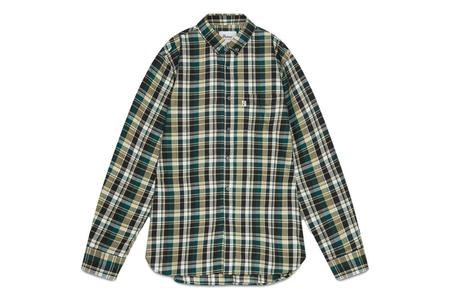 Penfield Barrhead Check Shirt - Green