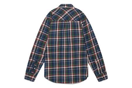 Penfield Barrhead Check Shirt - Navy
