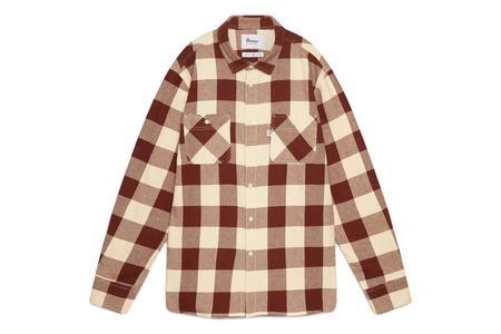 Penfield Blackmer Buffalo Shirt - Beige