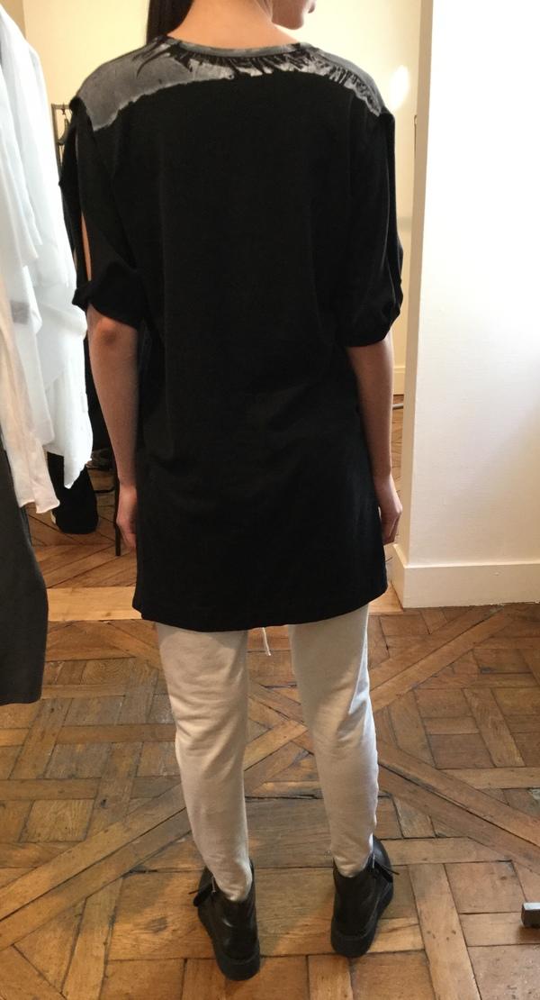 Ilaria Nistri v neck cotton tunic top