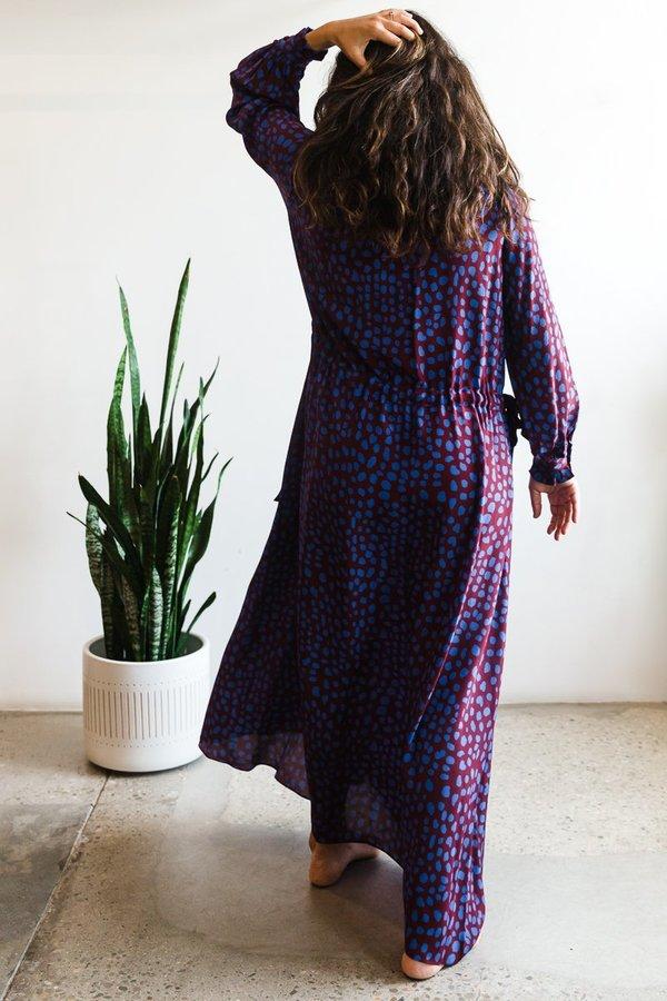 Whit Maude Dress - Jaguar