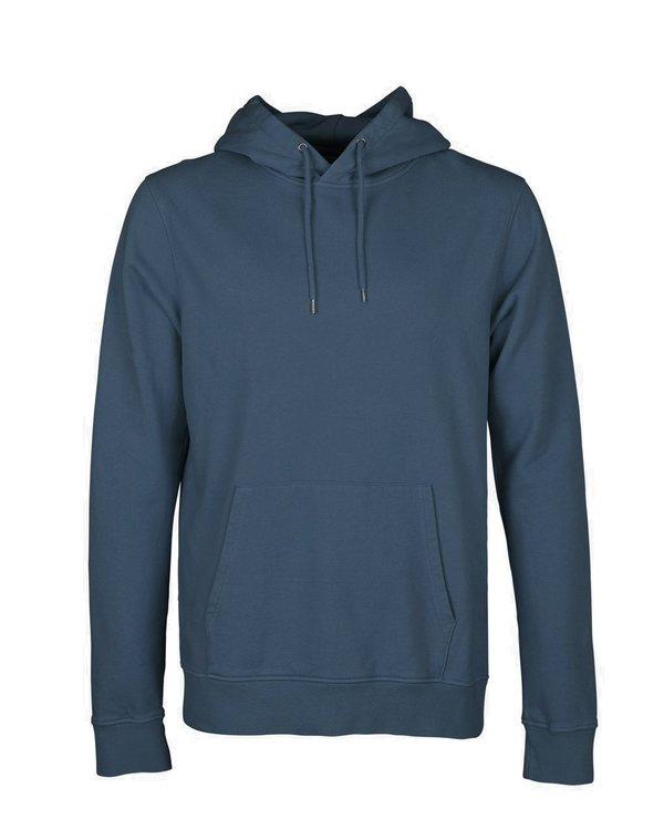 Unisex Colorful Standard Hoodie Sweatshirt - Petrol Blue
