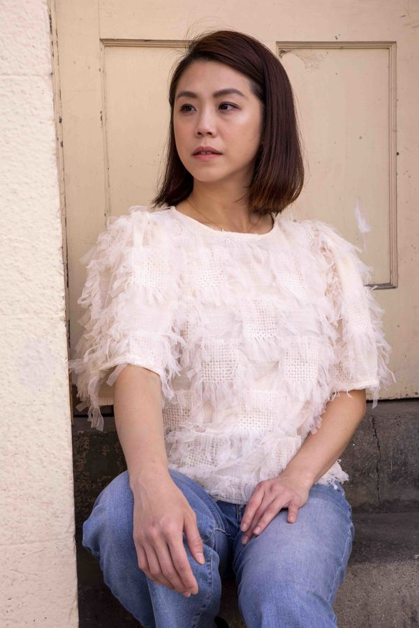 ENGLISH FACTORY Flutter Ruffle Top - IVORY