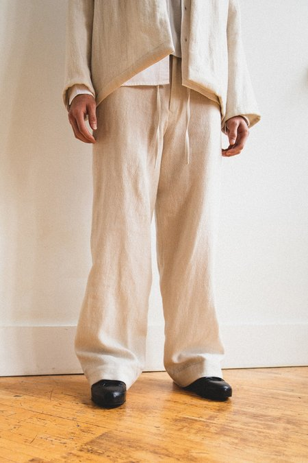 Unisex SEYA Easy Straight Pant - Off White