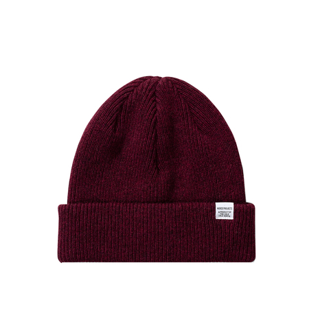 Norse Projects norse beanie - Mulberry Red