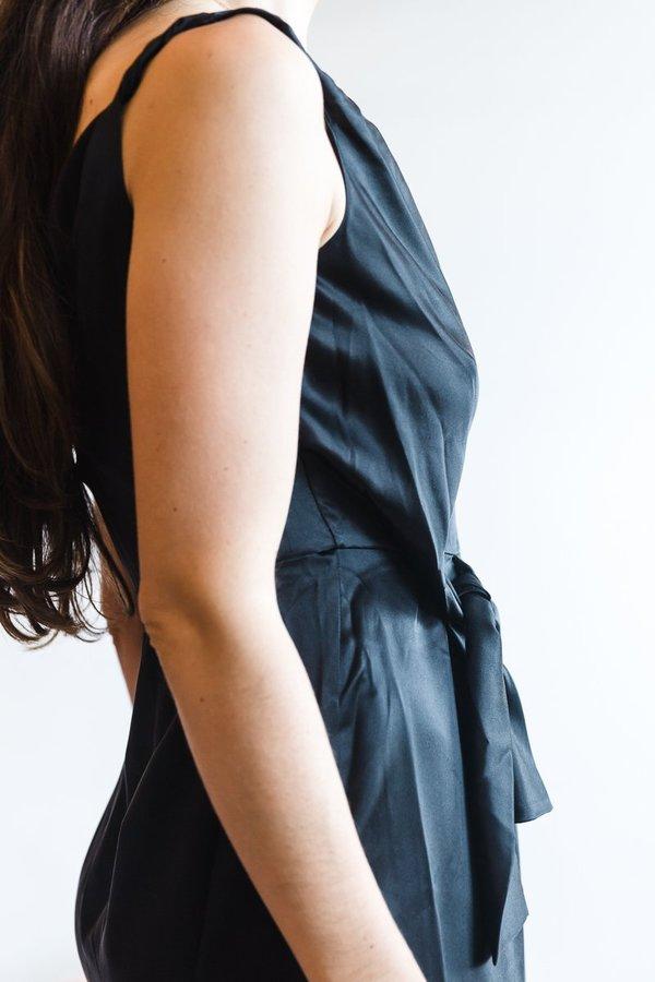 Saloni Giselle Dress - Black