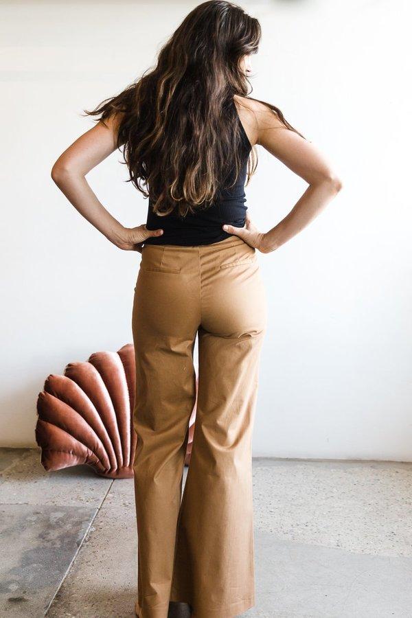 Veroalfie Pantalon Frida - Camel
