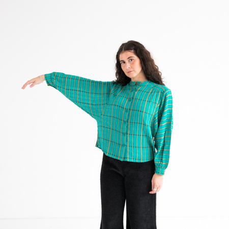 Ace & Jig Barrett Blouse - peacock