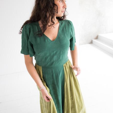 Kurt Lyle Roseanna Dress - Green