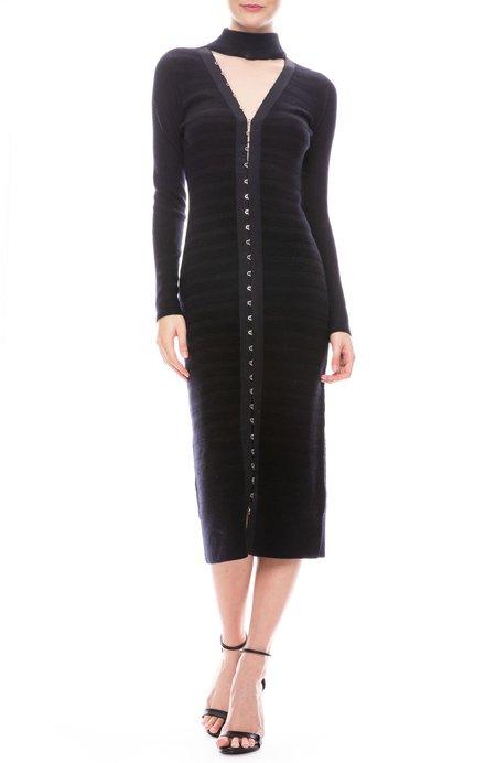 Jonathan Simkhai Textured Slit Front Dress