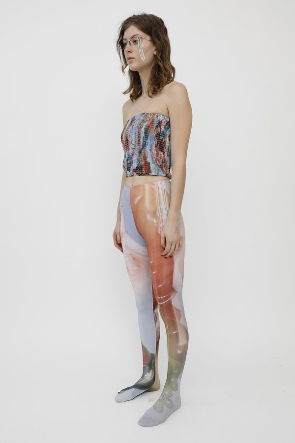 Collina Strada TIGHTS - SISTINE TOMATO PHOTO