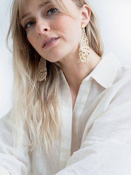 Tribe Alive Beaded Earrings - Multi