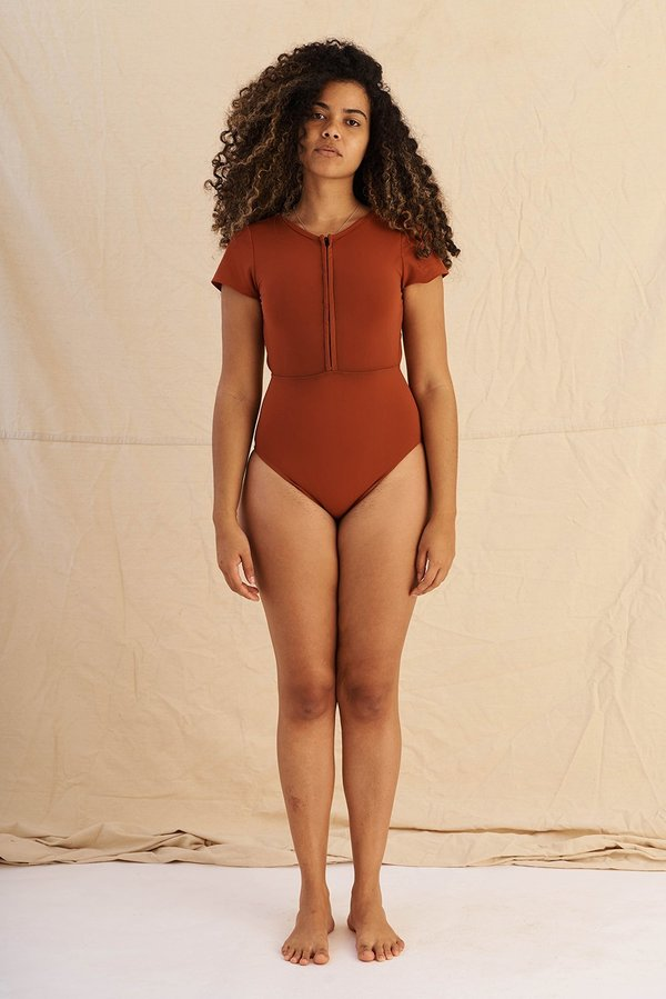 Hakea Chacahua Surf Suit - Clay