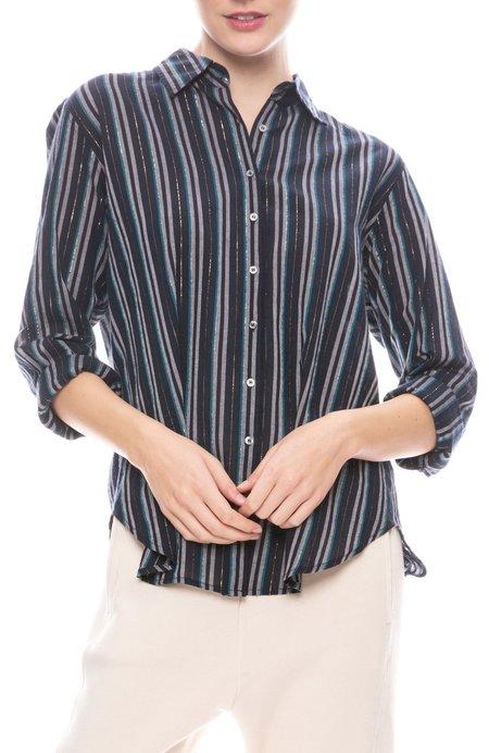 Xirena Beau Winston Stripe Shirt - NIGHT SPARK