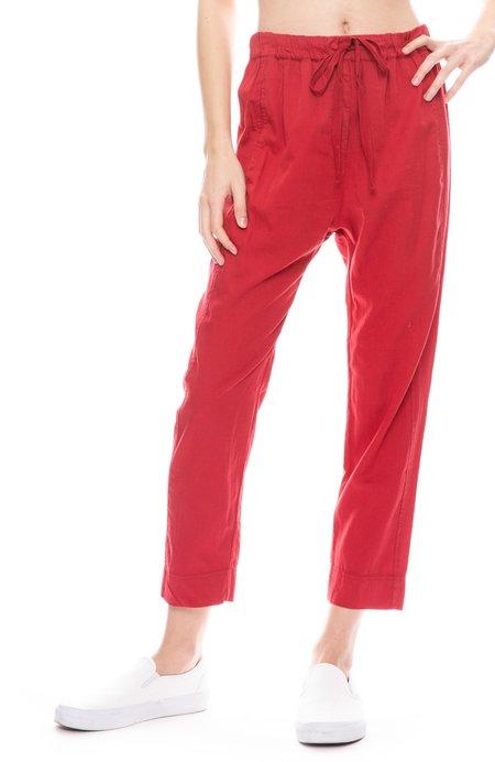 Xirena Draper Quiana Cotton Pant - CUT RUBY